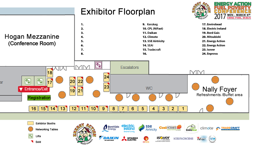 Exhibitors Floorplan FPCON17