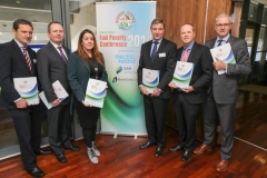 L-R: Jim Dollard (Electric Ireland), Brian Motherway (CEO SEAI) Fiona Hannon (SSE Airtricity). David McCarthy (Chairman, Energy Action), David Kirwan (CEO, BGE) & NIall o Donnchú(Director, Energy Action) at the Croke Park Conference on Fuel Poverty - Oct 6th . Fifty million Europeans are living in Fuel Poverty, over 400,000 of them in the Republic of Ireland. All the indicators are that more people are falling into Fuel Poverty across the EU as net disposable incomes shrink, employment levels stagnate and fuel prices rise. As another winter approaches the Energy Action conference in Croke Park tomorrow (Monday. October 6th) will focus on new studies of fuel poverty in Ireland, in Britain and in Europe - as well as the most effective and sustainable strategies to end this growing social scandal.
