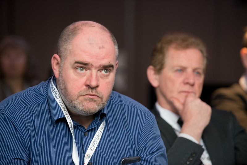 Stephen Bingham, European Energy Poverty  Conference 2018, Croke Park, March 29th, 2018. Photograph by WovenContent