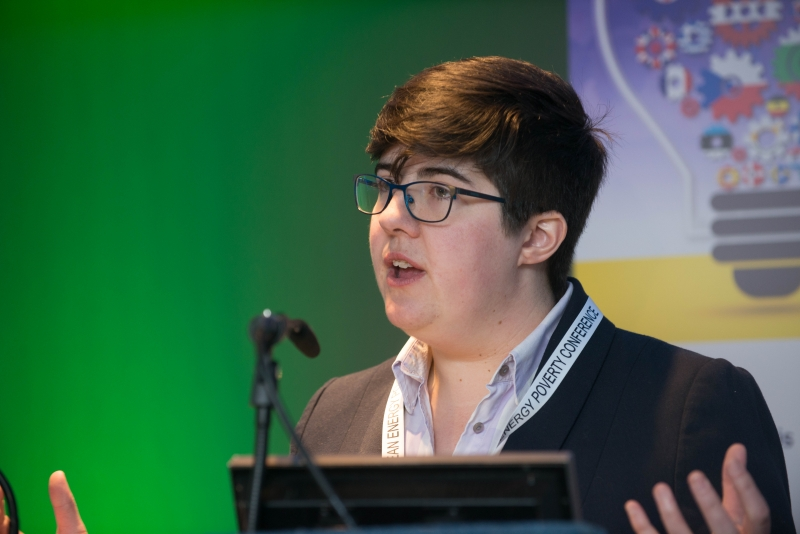 DR HARRIET THOMSONLecturer in Global Social Policy and Sociology at University of Birmingham, European Energy Poverty Conference 2018, Croke Park, March 29th, 2018. Photograph by WovenContent