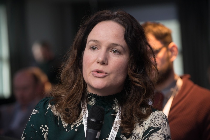 Sorcha Edwards - Housing Europe at the European Energy Poverty Conference 2018, Croke Park, March 29th, 2018. Photograph by WovenContent