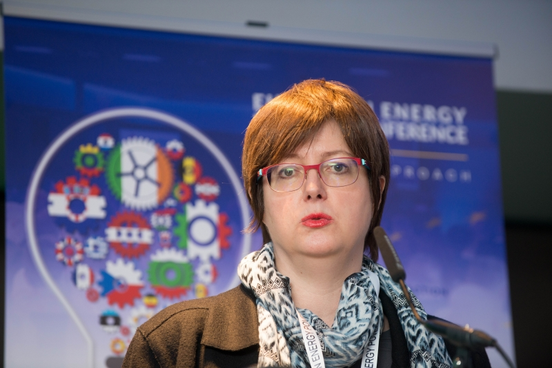 PROF. UTE DUBOISProfessor of Economics, ISG Business School at the European Energy Poverty Conference 2018, Croke Park, March 29th, 2018. Photograph by WovenContent