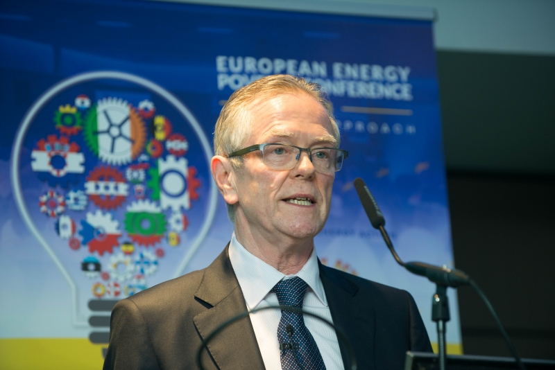 EUGENE CONLONCommunity Leader, Dunleer, Co. Louth CDB at the European Energy Poverty Conference 2018, Croke Park, March 29th, 2018. Photograph by WovenContent