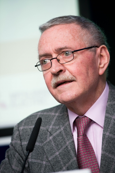 Frank McDonald at the European Energy Poverty Conference 2018, Croke Park, March 29th, 2018. Photograph by WovenContent