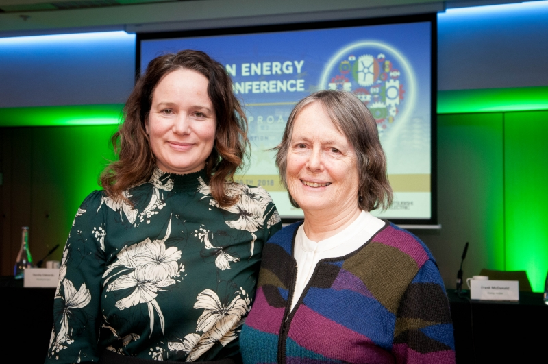 SORCHA EDWARDS, Housing Europe at the European Energy and DR BRENDA BOARDMAN Emeritus Fellow, Environmental Change Institute, Oxford UniversityPoverty Conference 2018, Croke Park, March 29th, 2018. Photograph by WovenContent