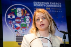SLAVICA ROBICExecutive Director, DOOR Croatia at the European Energy Poverty Conference 2018, Croke Park, March 29th, 2018. Photograph by WovenContent