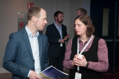 Aidan Hogan, Gas Networks Ireland and Alex Hamilton, 3CEA at the European Energy Poverty Conference 2018, Croke Park, March 29th, 2018. Photograph by WovenContent