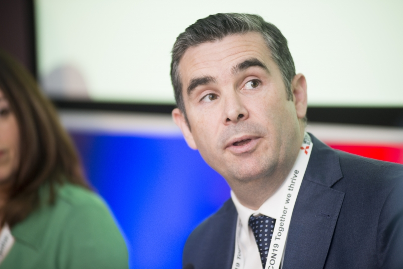 Fuel Poverty Conference / Energy Action - Oct 21st 2019 - Croke Park -*-Stuart Hobbs,General Manager of SSE Airtricity Energy Services.