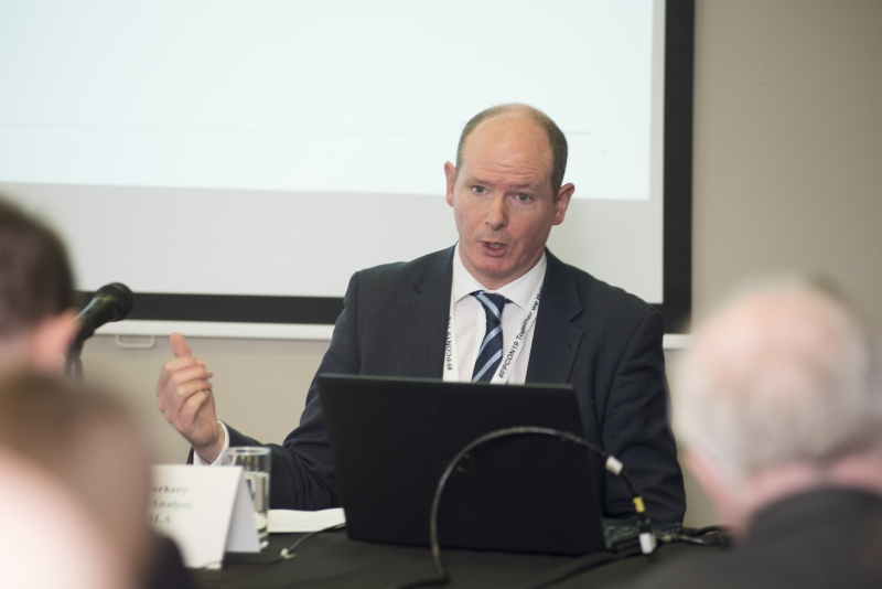 Fuel Poverty Conference / Energy Action - Oct 21st 2019 - Croke Park -*-John Paul Corkery, Senior Analyst in the National Treasury Management Agency