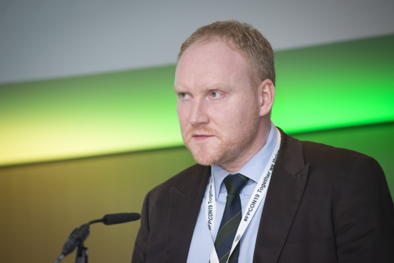 Fuel Poverty Conference / Energy Action - Oct 21st 2019 - Croke Park -*-Dan Morrison, Tigheann Innse Galle.