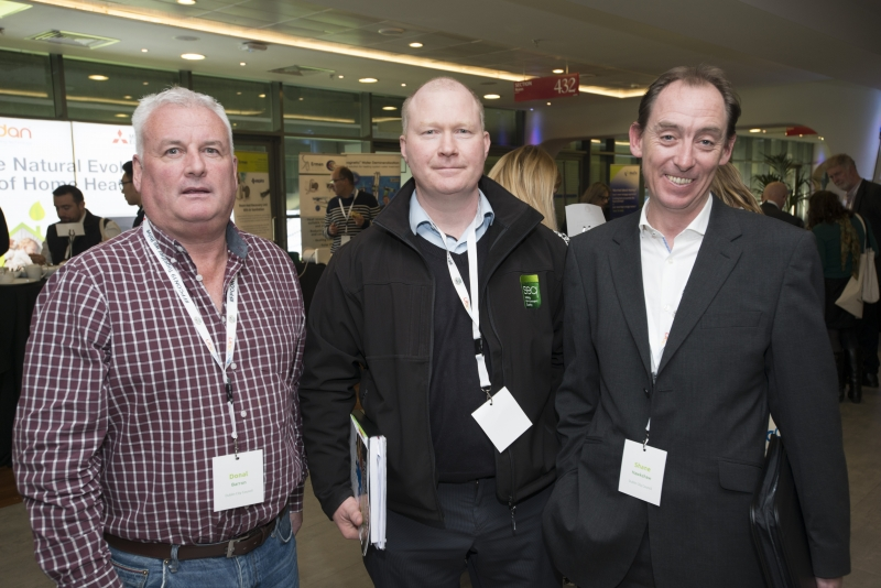 Fuel Poverty Conference / Energy Action - Oct 21st 2019 - Croke Park -*-Donal Barron, Richard Lennon and Shane Hawkshaw, Dublin City Council.