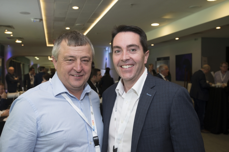 Fuel Poverty Conference / Energy Action - Oct 21st 2019 - Croke Park -*-Johnny Goode, Ideal Energy and Philip Mills