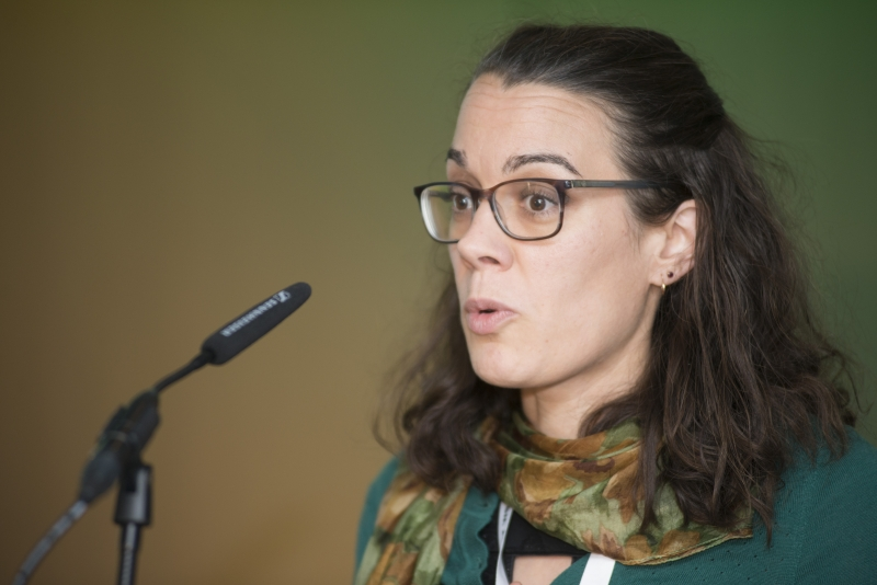 Fuel Poverty Conference / Energy Action - Oct 21st 2019 - Croke Park -*-Marion Jammet , Directro Energu Action.