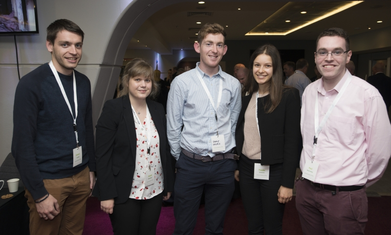 Fuel Poverty Conference / Energy Action - Oct 21st 2019 - Croke Park -*-Dimitri Cernize, Niamh Shanahan, Jamie Nolan, Frauke Scholun and Paul McElbaney - Central Statistics Office.