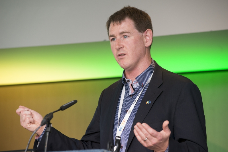 Fuel Poverty Conference / Energy Action - Oct 21st 2019 - Croke Park -*-Paul Kenny, Chief Executive Officer of Tipperary Energy Agency.