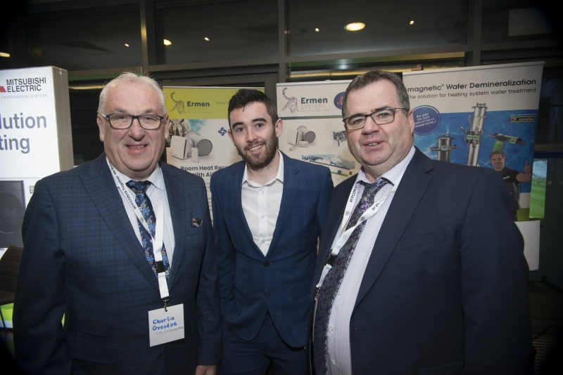Energy Action Conference - Oct 21st 2019 - Croke Park -*- Charlie Crendon, JV Communications, David Rigney and Martin Curran, Ermen Systems.