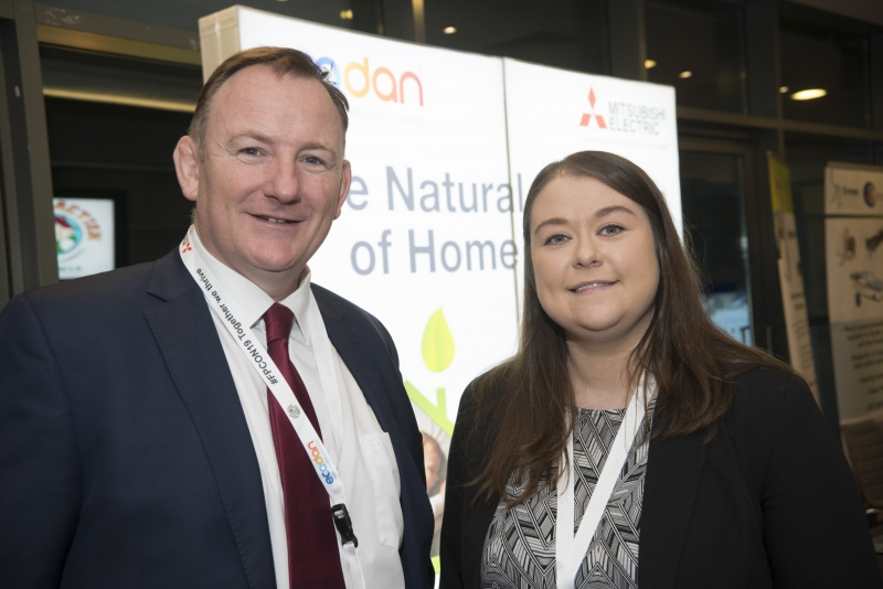 Energy Action Conference - Oct 21st 2019 - Croke Park -*- David McConnell and Caoimhe McCarthy, SEAI.