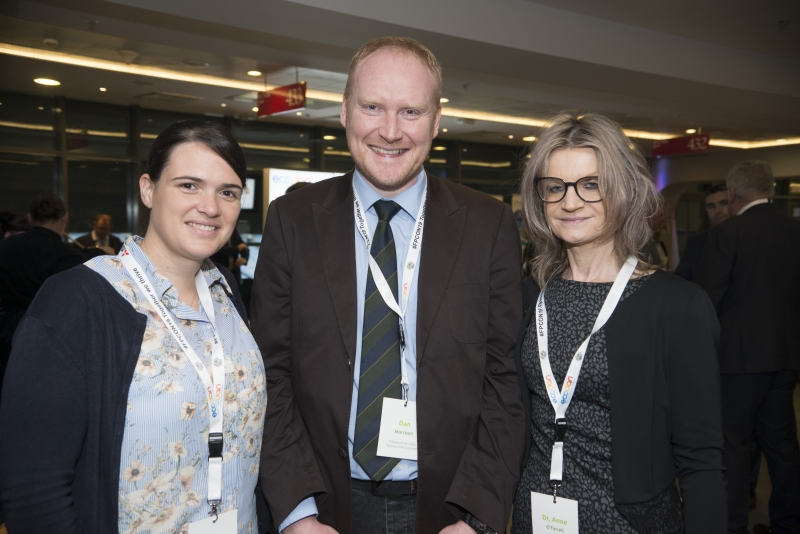 Energy Action Conference - Oct 21st 2019 - Croke Park -*- Hirsty Macleod and Dan Morrison, Tigheann Innse Galle and Dr Anne O'Farrell, HSE