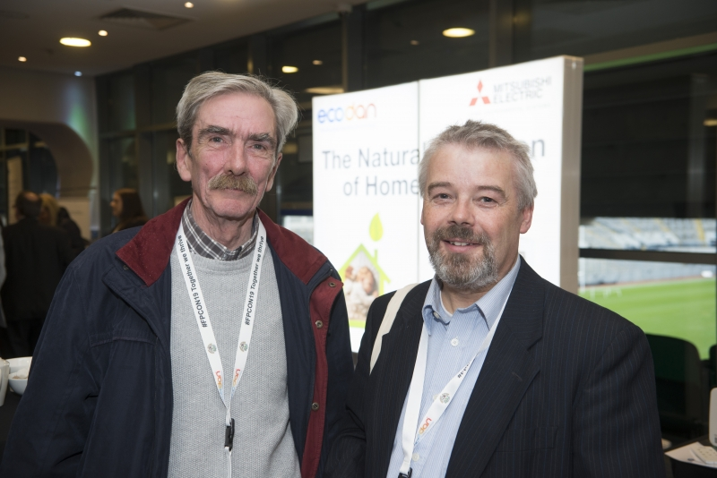 Energy Action Conference - Oct 21st 2019 - Croke Park -*- Harry Burke, Energy Action and Stewart Wilson, Tigheann Innse Galle.