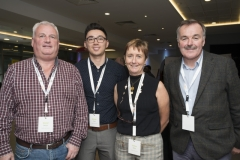 Fuel Poverty Conference / Energy Action - Oct 21st 2019 - Croke Park -*-Donal Barron, Kieran Yeow, Celine Reilly and Martin Moore, Dublin City Council.