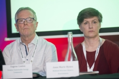 Energy Action Conference - Oct 21st 2019 - Croke Park -*- Eugene Conlon, Louth Energy. and Anne Marie Hynes, Midland Warmer Homes.